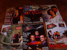 Starburst, TV Zone, Dreamwatch, Cult Times, Xfiles sci fi mags - choose any 5