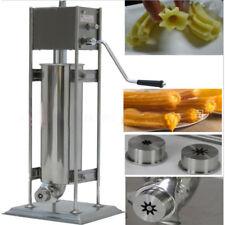 5L Stainless Steel Commercial Manual Spanish Churro Maker Doughnut Machine+ Gift