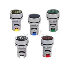 Digital Ac 20 500v Display Led Voltmeter Signal Light Voltage Meter Indicator
