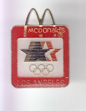 RARE PINS PIN'S .. MC DONALD'S TEAM OLYMPIQUE OLYMPIC 1984 LOS ANGELES USA ~17