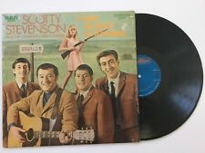Scotty Stevenson & The Canadian Night-Hawks I Can't Go Back to Winnipeg Lp Nm