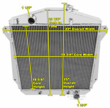 4 Row WR Champion Radiator for 1943 - 1948 Chevrolet Cars Chevy V8 Conversion