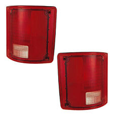 New PAIR (Left & Right) Tail Light Assemblies Fits 1973-1991 Chevy & GMC Pickup
