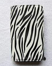 Lovely Hairdressers DMI Zebra Print Zipped 2 Part Tool Holder - Zebra Print