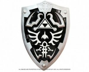 "LARGE 25"" Full SIze Dark Link's Hylian Shield from the Legend of Zelda"