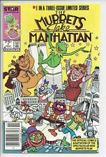Muppets Take Manhatten 1 - NM (9.2) $.75 Canadian Variant RARE Star Comics