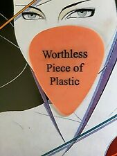 Blink 182 Worthless Piece Of Plastic guitar pick