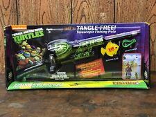Teenage Mutant Ninja Turtles Tangle-Free Telesopic Fishing Rod Combo