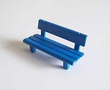 PLAYMOBIL (T1104) FERME & EQUESTRE - Banc Bleu 3072