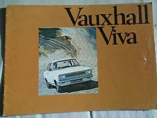 Vauxhall Viva brochure Mar 1970