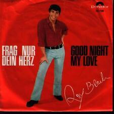 """7"""" Roy Black Frag nur Dein Herz / Good Night My Love Polydor 52 728"""