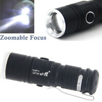 Ultrafire Flashlight Zoomable T6 LED CR123A 30000LM-Hunting Camping Light Torch