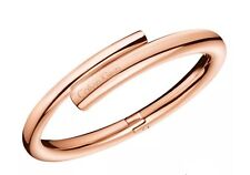 Calvin Klein Scent Rose Gold PVD Closed Bangle - Brand New In Box