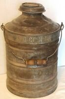 STANDARD OIL COMPANY of NEBRASKA gas water kerosene can metal ORIGINAL rare old