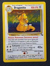 Pokemon Dragonite Fossil Holo ITALIAN