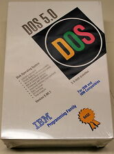 IBM DOS 5.00 Software & Manual New in Sealed Package NIB - ships worldwide!