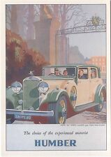 Humber Snipe 80 Sports MODERN postcard issued by Robert Opie