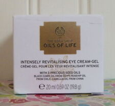 THE BODY SHOP OILS OF LIFE INTENSELY REVITALIZING EYE CREAM GEL 0.69 OZ