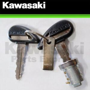 NEW 2004 - 2021 GENUINE KAWASAKI VULCAN FUEL TANK CAP KEY AND LOCK CYLINDER