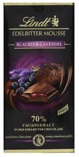 6 x LINDT CHOCOLATE BLUEBERRY & LAVENDER MOUSSE - CANDY  SCHOKOLADE FROM GERMANY
