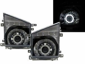 ELF 100P N-SERIES NJR85 2007-ON CCFL Projector Headlight Black for ISUZU RHD
