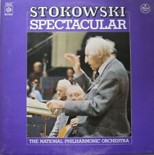THE NATIONAL PHILHARMONIC ORCHESTRA - STOKOWSKI SPECTACULAR  -  LP - QUADRA