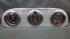 1960 1961 1962 1963 FORD FALCON 3 GAUGE CLUSTER BLACK