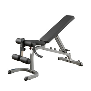 BODY SOLID FLAT / INCLINE / DECLINE BENCH - IN STOCK - HOME GYM SALE ON
