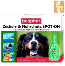 Beaphar Zeckenschutz Flohschutz SPOT-ON große Hunde Tropfen gegen Flöhe & Zecken