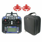 Flysky FS-i6 6CH 2.4G Transmitter with Portable Case Rocker Mount for RC Drone