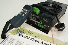 XA600 Dual Tone Siren Amplifier 400W EMS Fire Compar Federal Police Code3 Carson