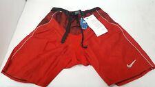 NIKE Quest Senior M Medium Red Ice Hockey Player Pad Shell Pants Shorts Dri-Fit