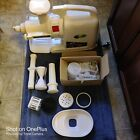 green star gold twin gear juice extractor juicer model GP-E1503 unused w/extras  photo