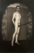 Pierre MOLINIER - L'Homme au sabre / Gelatin silver print photograph