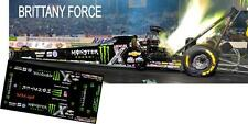 CD_MM_098 Brittany Force  Monster Dragster    1:25 scale decals   ~NEW~