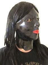 Capi d'abbigliamento erotico nero in lattice
