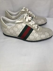 Gucci Icon Guccissima Leather Sneaker Size 38.5