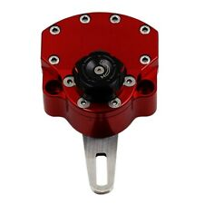 Red Adjustable Universal Motorcycle Steering Damper Stabilizer Safety Control