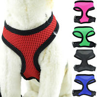 Pet Cat Puppy Dog Control Harness Soft Mesh Vest Walk Collar Leash Strap Amazing