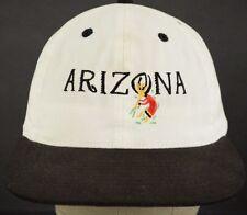 Arizona Kokopelli White Black Baseball Hat Cap and Adjustable Strap