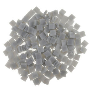 250 Piece Colorful Square Vitreous Glass Mosaic Tiles Pieces for DIY Art and