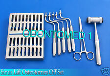 SINUS LIFT OSTEOTOMES OFF SET CONVEX TIP With Mead Bone Mallet implant DN-568