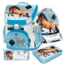 Pferde Horse Premium Schulranzen Tornister Ranzen Schulranzenset 4 teilg
