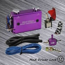 DUAL STAGE SWITCH MANUEL ADJUST TURBO WASTEGATE BOOST CONTROLLER PURPLE UNIVER.