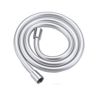 Brass Pipe Connectors Smooth Durabl PVC 1.5m Metre Long Flexible Shower Hose