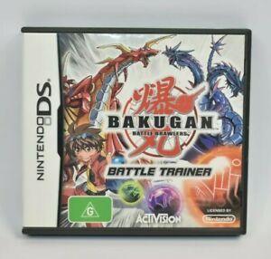 Nintendo DS Bakugan Battle Brawlers Game Complete Battle Trainer Free Postage