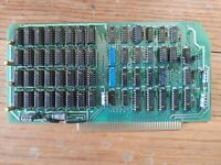 Tandy TRS-80 Model II Bus Card Memory Board Untested