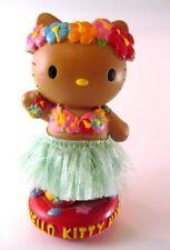 RARE 2002 SANRIO HELLO KITTY HAWAII BobbleHead-Dashboard Dancer-HARD TO FIND-EUC