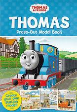 Thomas the tank engine press-out modèle livre-nouveau créer votre propre station de train!