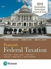 Pearson's Federal Taxation 2018 Corporations, Partnerships, Estates and Trusts b